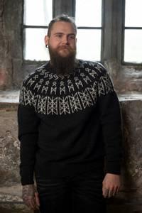 """Bilde av 2127-3a """"Skulds nett""""-genser Verdande. VIKING"""